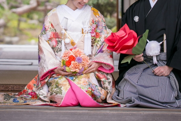 Nagano Japanese Shrine Wedding